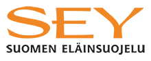 SEY logo jossa SEY Suomen eläinsuojelu -teksti